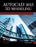 AutoCAD® 2015 3D Modeling Book Cover