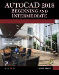 AutoCAD 2018 Beginning and Intermediate Book Cover