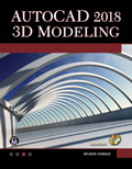 AutoCAD 2018 3D Modeling Book Cover