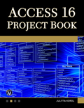 Access 16 Project Book Book Cover