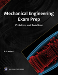 Mechanical Engineering Exam Prep Problems and Solutions Book Cover