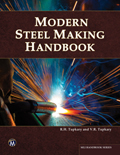 Modern Steel Making Handbook Book Cover