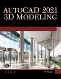 AutoCAD 2021 3DModeling Book Cover