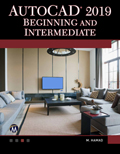 AutoCAD 2019 Beginning and Intermediate Book Cover