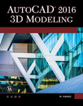 AutoCAD 2016 3D Modeling Book Cover