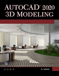 AutoCAD 2020 3D Modeling Book Cover