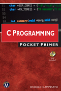 C Programming Pocket Primer Book Cover