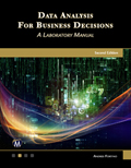 Data Analysis For Business Decisions - A Laboratory Manual Book Cover