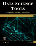 Data Science Tools - R • Excel • KNIME • OpenOffice Book Cover