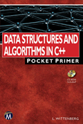 Data Structures And Algorithms In C++ Pocket Primer  Book Cover