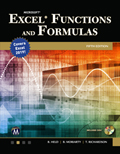 Microsoft Excel Functions And Formulas Fifth Edition Book Cover