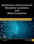 Artificial Intelligence, Machine Learning and Deep Learning Book Cover