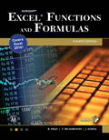 Microsoft Excel Functions and Formulas Fourth Edition Book Cover