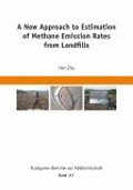 A New Approach to Estimation of Methane Emission Rates from Landfills Book Cover