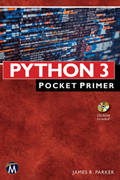 Python 3 - Pocket Primer Book Cover